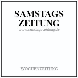 Samstagszeitung - Wochenzeitung